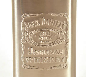 Jack Daniels 5Oz Slimline Pocket Flask Thumbnail 3