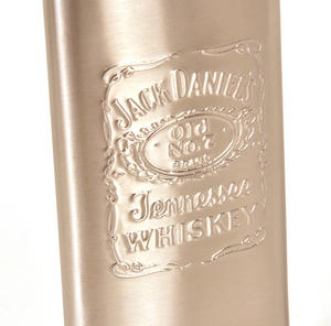 Jack Daniels 5Oz Slimline Pocket Flask Thumbnail 5