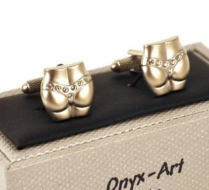Cufflinks - Crystal G-String Thumbnail 1