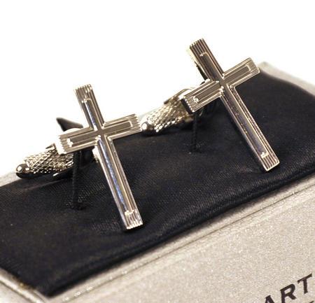 Cufflinks - Crucifix