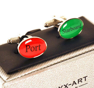 Cufflinks - Port And Starboard Thumbnail 1
