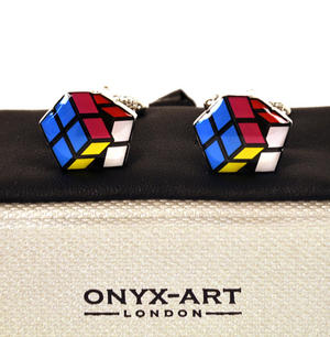 Cufflinks - Puzzle Cube Thumbnail 1