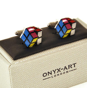 Cufflinks - Puzzle Cube Thumbnail 2