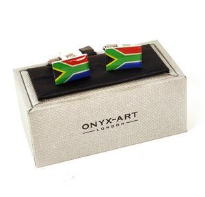 Cufflinks - South Africa - South African Flag (Suid-Afrikaanse Vlag) Thumbnail 2