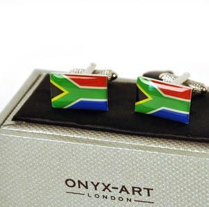 Cufflinks - South Africa - South African Flag (Suid-Afrikaanse Vlag) Thumbnail 3