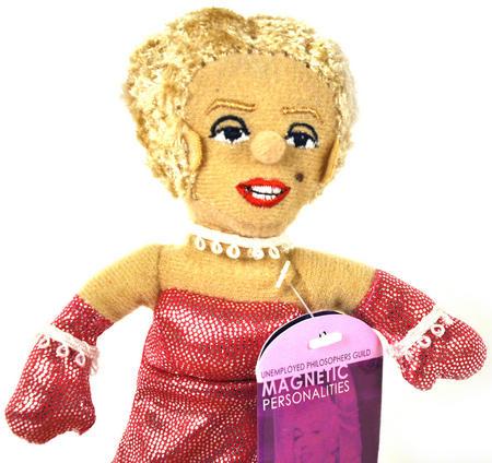Marilyn Monroe Finger Puppet Fridge Magnet