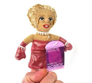 Marilyn Monroe Finger Puppet Fridge Magnet Thumbnail 3
