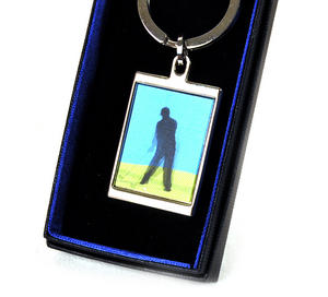 Animated Keyring - Golfer By Sonia Spencer Thumbnail 3