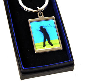 Animated Keyring - Golfer By Sonia Spencer Thumbnail 5