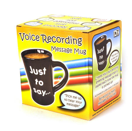 Voice Recording Message Mug