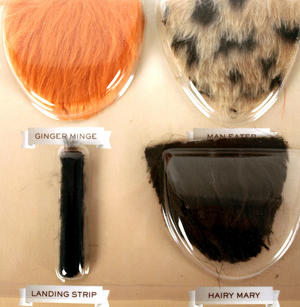 Merkin Set - Dare To Wear Body Hair Thumbnail 2