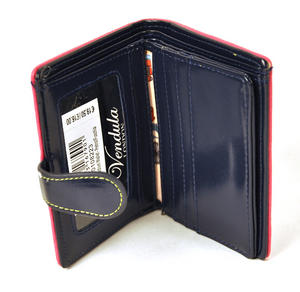 Birdcage Medium Wallet - Petrol / Fuschia Thumbnail 4