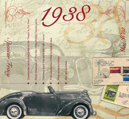 1938 The Classic Years 20 Track Cd Greetings Card