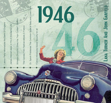 1946 The Classic Years 20 Track Cd Greetings Card