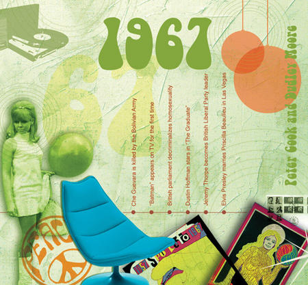 1967 The Classic Years 20 Track Cd Greetings Card