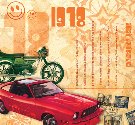 1978 The Classic Years 20 Track Cd Greetings Card