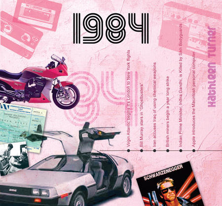 1984 The Classic Years 20 Track Cd Greetings Card