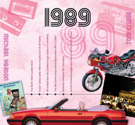 1989 The Classic Years 20 Track Cd Greetings Card