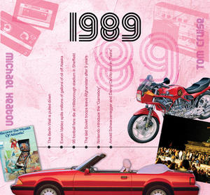 1989 The Classic Years 20 Track Cd Greetings Card Thumbnail 1