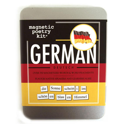 German Fridge Magnet Poetry Set - Fridge Poetry