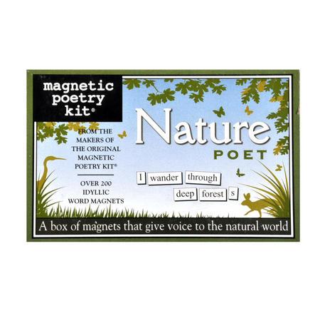 Nature Poet - Fridge Magnet Poetry Set - Fridge Poetry