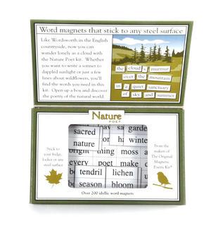 Nature Poet - Fridge Magnet Poetry Set - Fridge Poetry Thumbnail 3