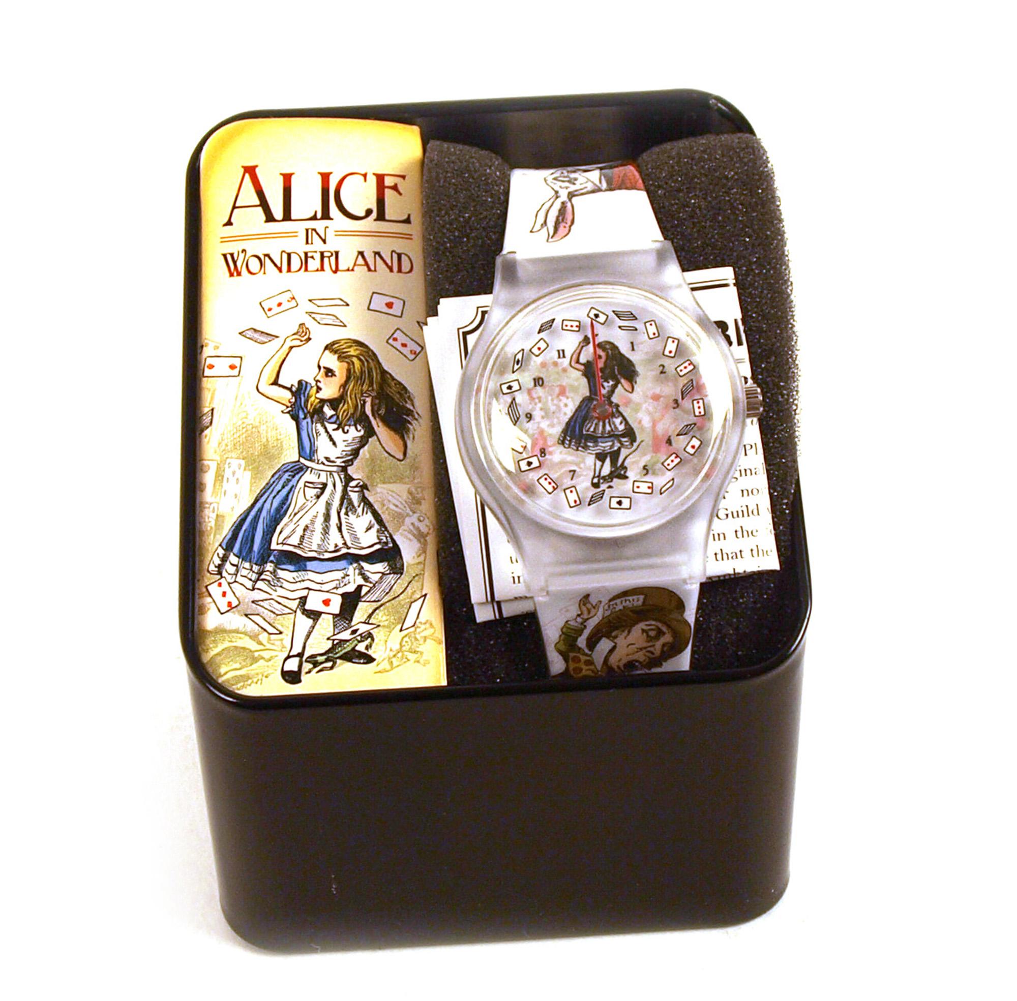 Alice In Wonderland Wristwatch Pink Cat Shop