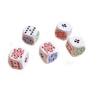 Jumbo Poker Dice / Liar Dice Thumbnail 1