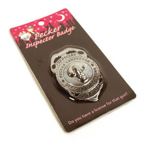 Official Pecker Inspector Badge Thumbnail 2