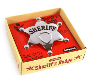Sheriff's Star Badge