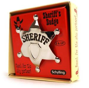 Sheriff's Star Badge Thumbnail 2