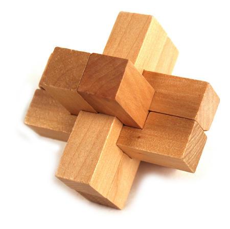 3D Wood Puzzle - Nova Star