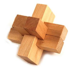 3D Wood Puzzle - Nova Star Thumbnail 1