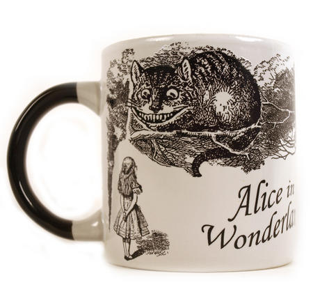 Disappearing Cheshire Cat Mug - Alice In Wonderland Heat Change Mug
