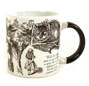 Disappearing Cheshire Cat Mug - Alice In Wonderland Heat Change Mug Thumbnail 2