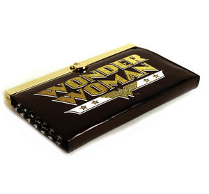 Wonder Woman Deluxe Black Metal Frame Purse Thumbnail 4