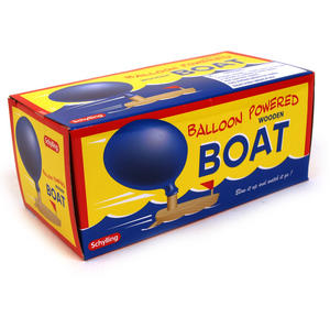 Balloon Powered Boat Thumbnail 2