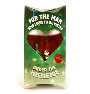 Kiss Me Under The Mistletoe - For Him - Thong With Mistletoe Thumbnail 2