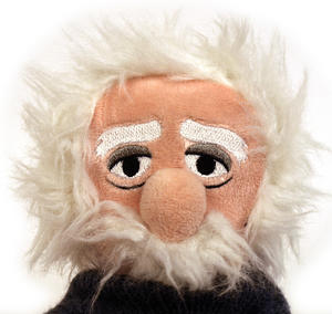 Einstein Soft Toy - Little Thinkers Doll Thumbnail 1
