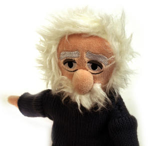 Einstein Soft Toy - Little Thinkers Doll Thumbnail 4