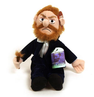 Van Gogh Soft Toy - Little Thinkers Doll Thumbnail 5