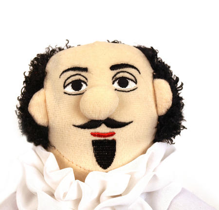 William Shakespeare Soft Toy - Little Thinkers Doll