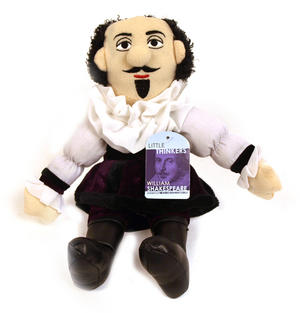 William Shakespeare Soft Toy - Little Thinkers Doll Thumbnail 2