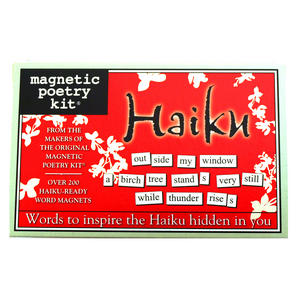 Haiku - Fridge Magnet Poetry Set - Fridge Poetry Thumbnail 1