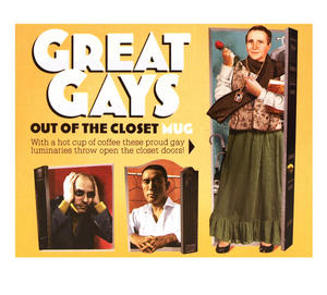 Great Gays - Out Of The Closet - Thermal Heat Change Mug Thumbnail 4