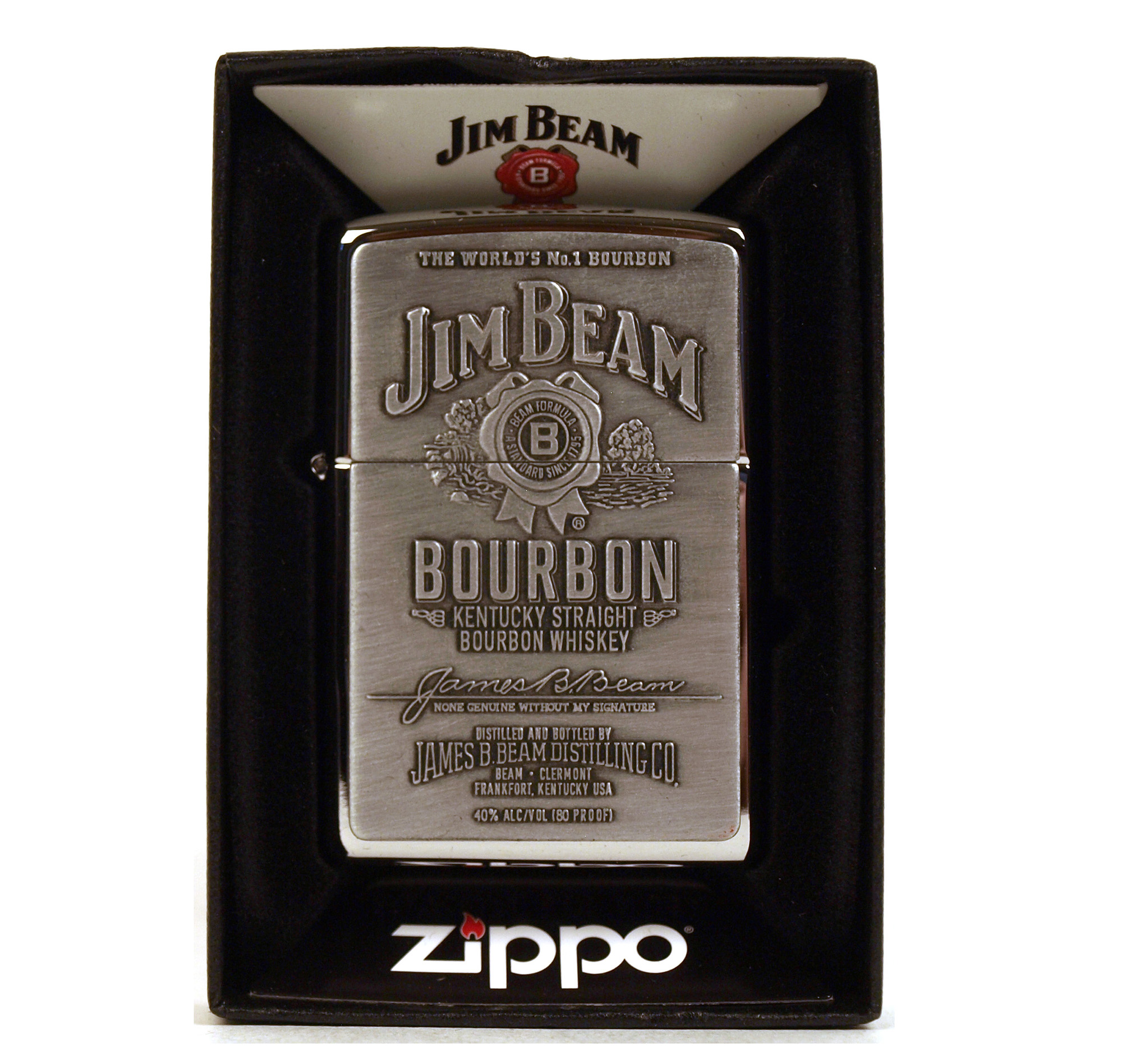 jim beam zippo lighter