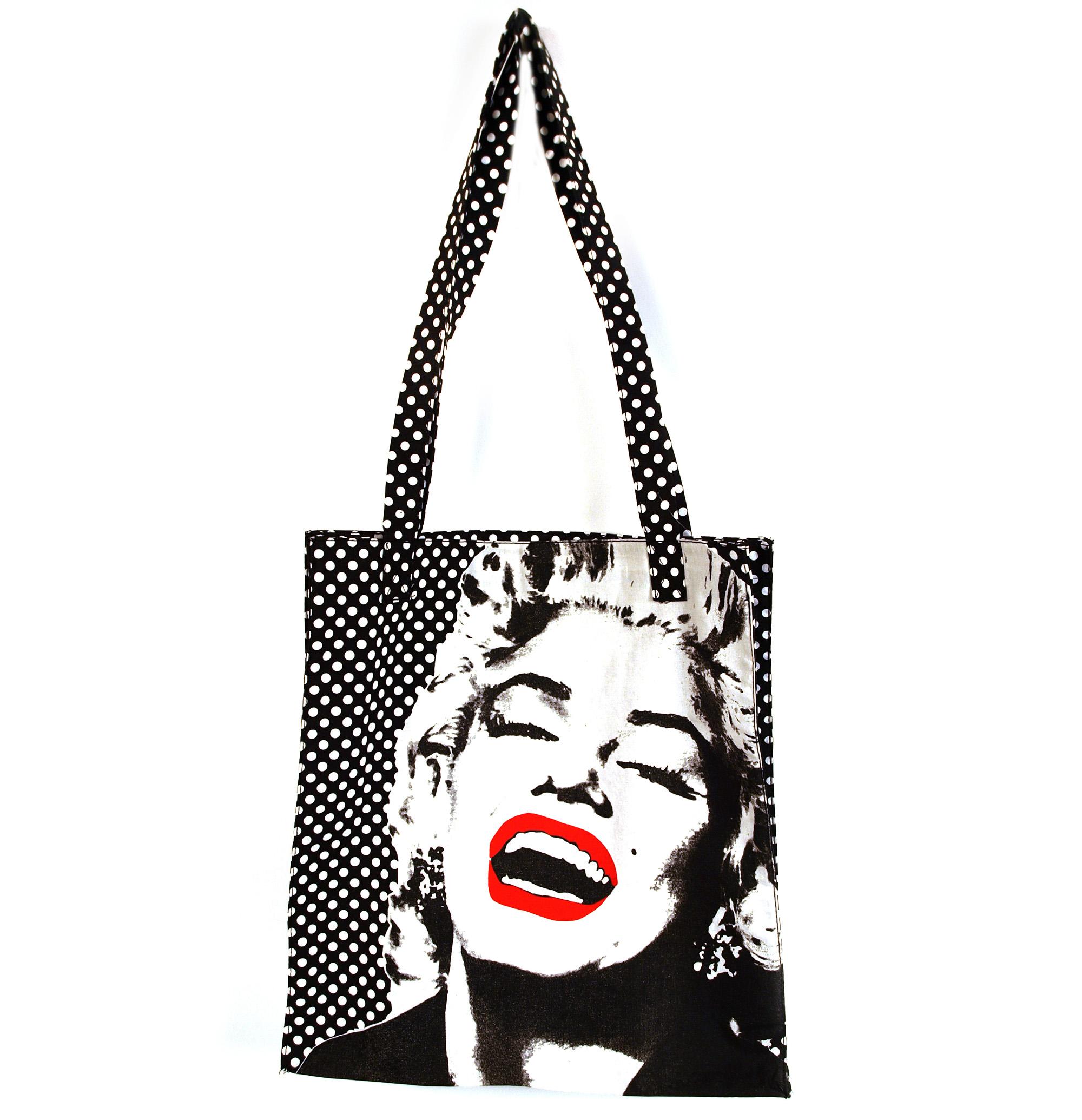 Marilyn Monroe Tote Bag   Pink Cat Shop 7586d38d16