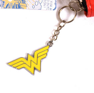 Wonder Woman Large Patent Zipper Purse Thumbnail 2