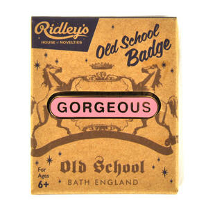 Old School Vintage Badge - Gorgeous Thumbnail 1
