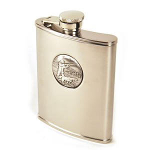 Sporting Shoot Hip Flask Thumbnail 2